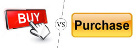 Buy vs Purchase
