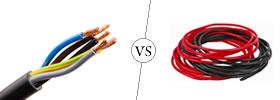 Cable vs Wire