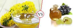 Canola Oil vs Grape Seed Oil