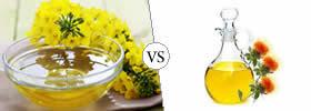 Canola Oil vs Safflower Oil