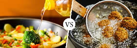 Cooking Oil vs Frying Oil