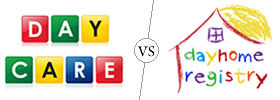 Daycare vs Dayhome
