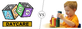 Daycare vs Montessori