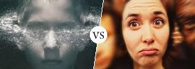 Deja vu vs Jamais vu