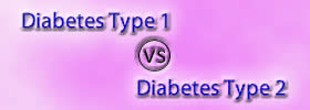 Diabetes Type 1 vs Type 2