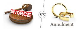Divorce vs Annulment