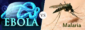 Ebola vs Malaria