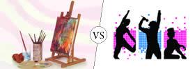 Fine Arts vs Performing Arts