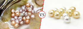 Freshwater vs Saltwater Pearls