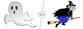 Ghost vs Witch