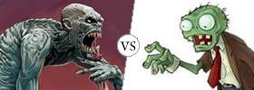 Ghoul vs Zombie