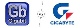 Gigabit vs Gigabyte