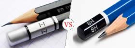 H vs HB Pencil