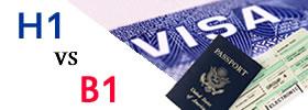 H1 vs B1 Visa
