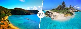 Hawaii vs Caribbean