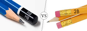 HB vs 2B Pencil