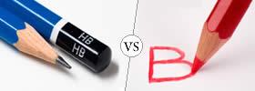 HB vs B Pencil Lead