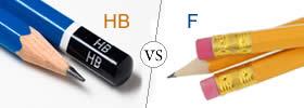 HB vs F Pencil
