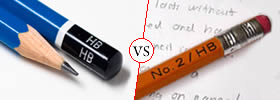 HB vs No.2 Pencil