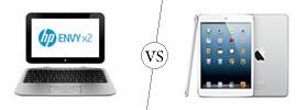 HP Envy X2 vs iPad