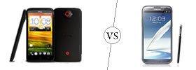 HTC One X+ vs Samsung Galaxy Note II