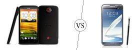HTC One X+ vs Samsung Galaxy Note II