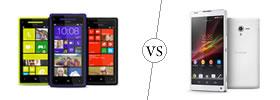 HTC Windows 8X vs Sony Xperia ZL