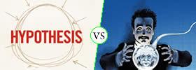 Hypothesis vs Prediction