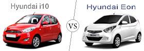 Hyundai Eon vs Hyundai i10