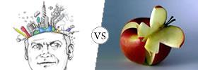 Imagination vs Creativity