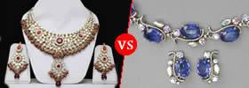 Imitation Jewellery vs Artificial Jewellery