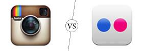 Instagram vs Flickr