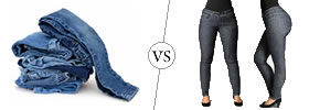 Jeans vs Jeggings
