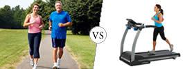 Jogging vs Running on Treadmill