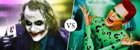 Joker vs Riddler in Batman