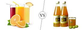 Juice vs Squash