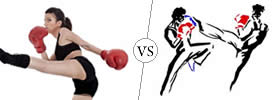 Kickboxing vs Savate