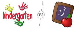 Kindergarten vs Primary School