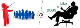 Leader vs Boss
