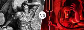 Lucifer vs Satan