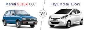 Maruti Suzuki 800 vs Hyundai Eon
