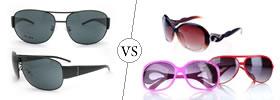 Men's vs Women's Sunglasses