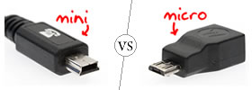 Mini USB vs Micro USB