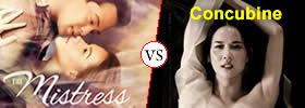 Mistress vs Concubine