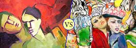 Modern vs Contemporary Art