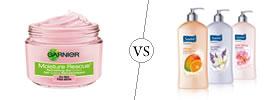 Moisturizer vs Lotion