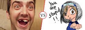 Moron vs Stupid