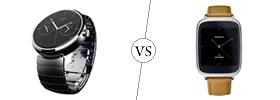 Motorola Moto 360 vs Asus ZenWatch