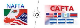 NAFTA vs CAFTA