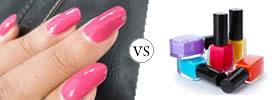 Nail Paint vs Nail Polish